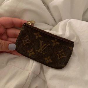 Louis Vuitton keychain pouch!
